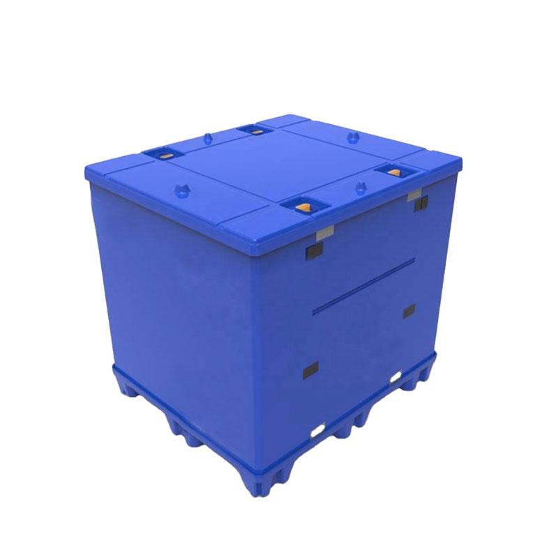 Polypropylen PP Kunststoff Palettenhülse Süll Bulk Container Hochleistungs faltbar