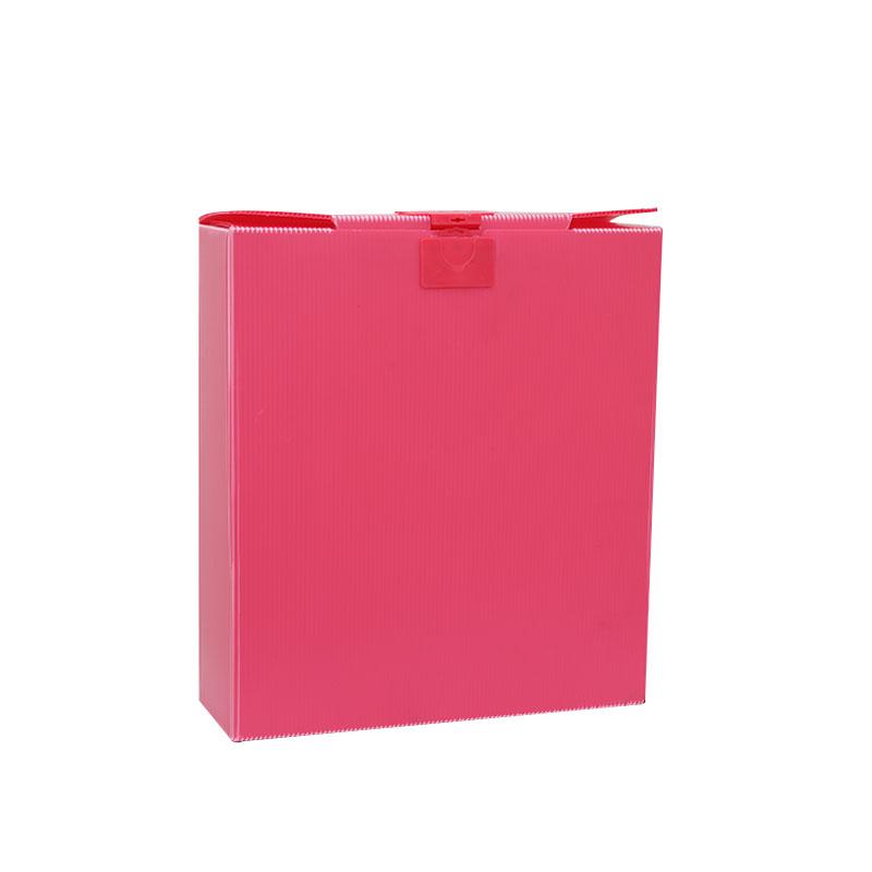 Wellpappe Kunststoffgehäuse Corflute Container Coroplast Boxen Sondergröße Farbdesign für Verpackung oder Umlauf