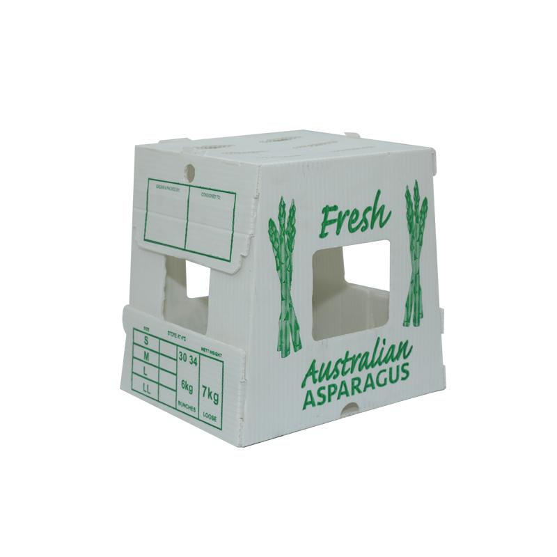 Landwirtschaftsboxen aus Wellpappe für Gemüsebehälter in Sondergröße für Verpackung oder Umlauf