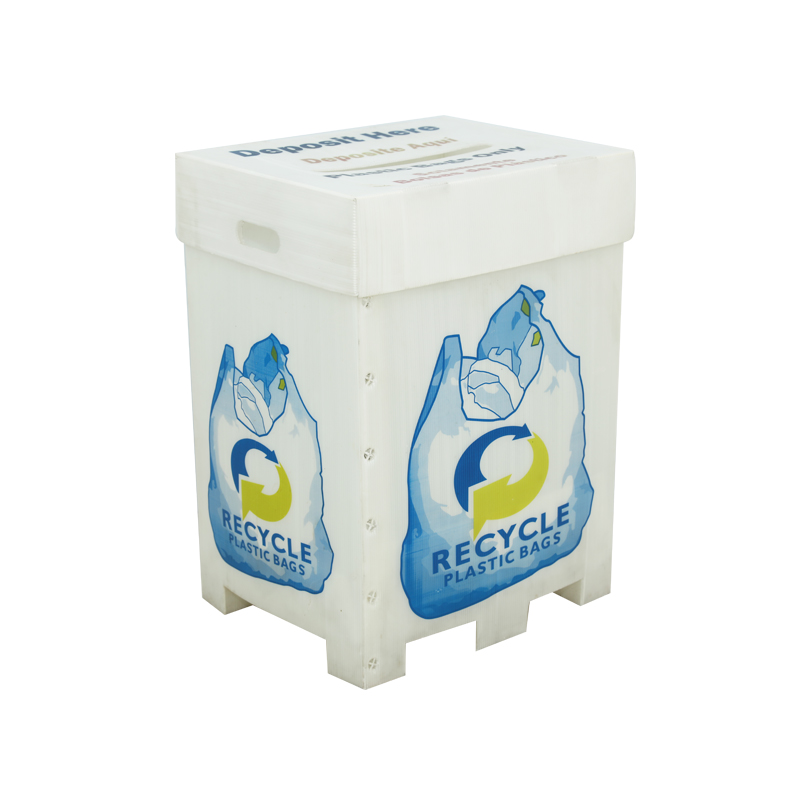 Wellpappen-Kunststoffbehälter kundenspezifische Recycler in der erforderlichen Größe Farbdruck mit oder ohne Deckel