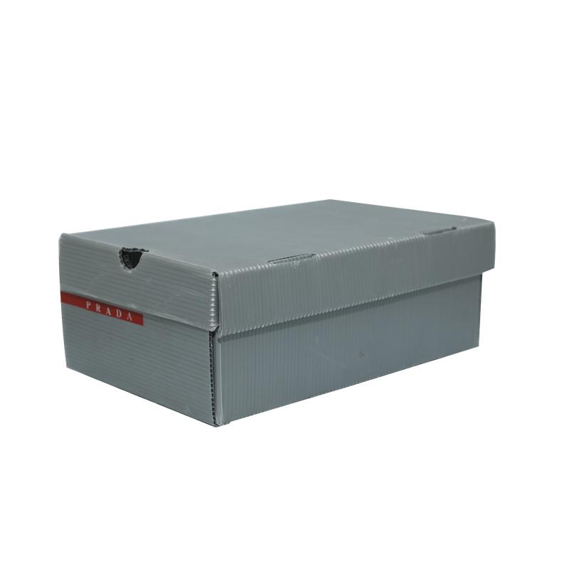 Schuhkartonbehälter aus Wellpappe, Farbdesign in Sondergröße für Verpackung oder Umlauf