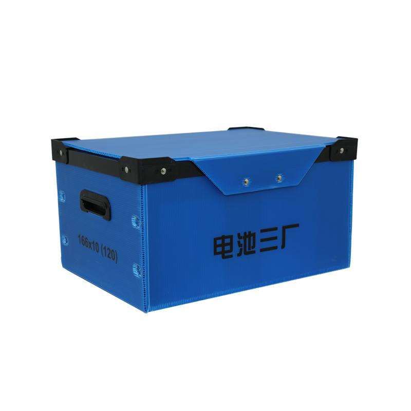 Umlaufbehälter aus Wellpappe für den Transport zwischen Verteilzentrum und Geschäften oder Abteilungen
